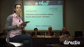 Interviste convegno Aiaf e Andaf - Riflessioni sulla possibile valenza fiscale delle perizie valutative