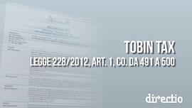 Modello di dichiarazione FTT (Tobin tax): modalità di compilazione