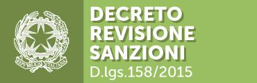Decreto revisione sanzioni