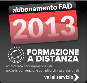 Fad Abbonamenti 2013