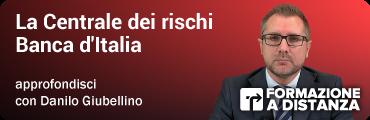 La Centrale dei Rischi Banca d'Italia