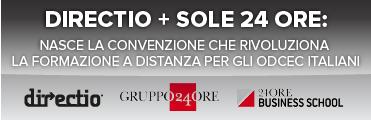 Convenzione Directio e Sole24Ore