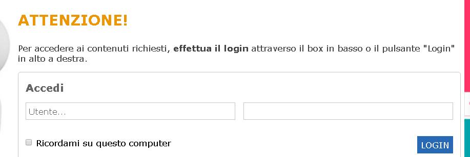 login clic lavoro