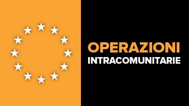 Guida operazioni intracomunitarie